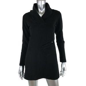 Lole M Medium Pullover Sweatshirt Tunic Black